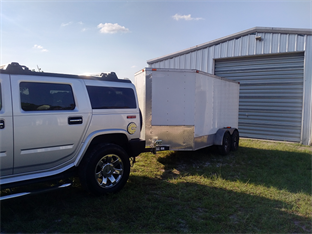 The trailer as purchased
